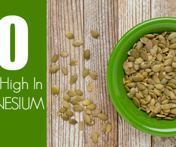 10 Foods High In Magnesium