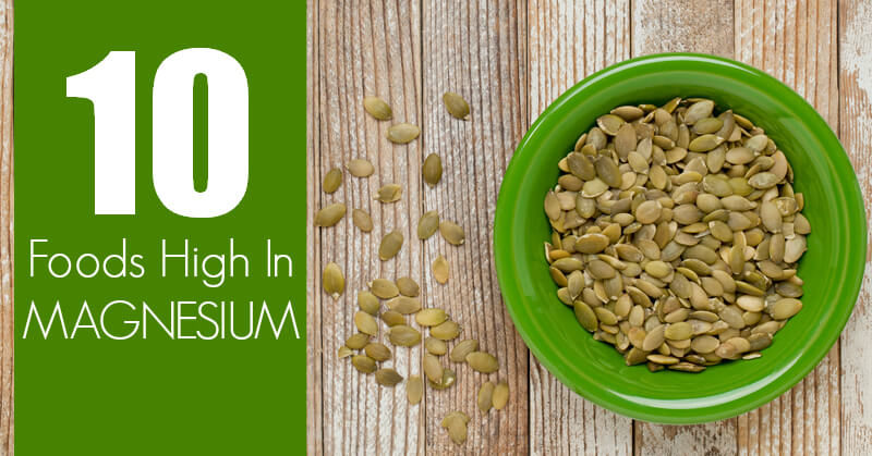 Which Of The Following Foods Is High In Magnesium