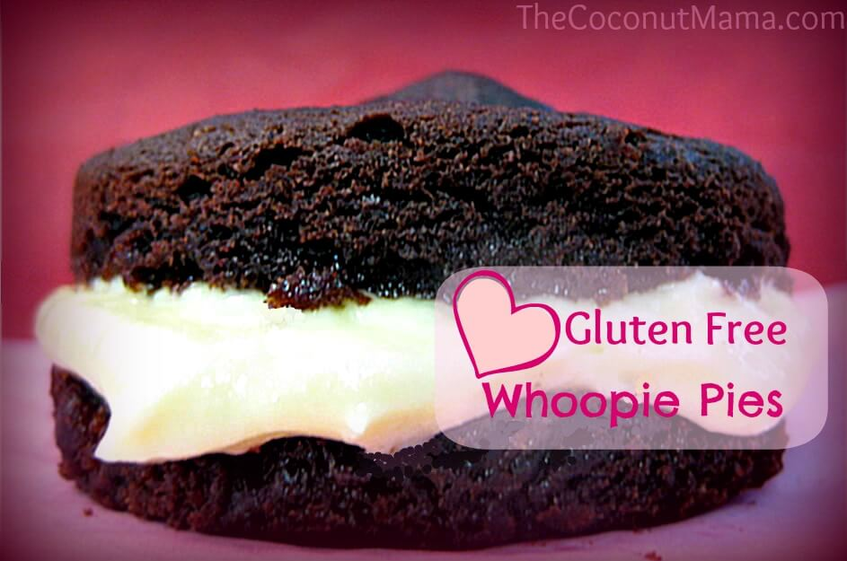 Gluten Free Whoopie Pies from The Coconut Mama