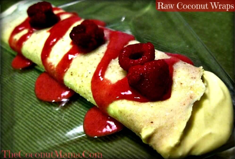 Coconut wrap recipe