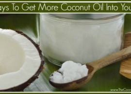 10 ways to get more coconut oil into your diet from The Coconut Mama