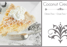 Coconut Cream Pie with Coconut Flour Crust from The Coconut Mama