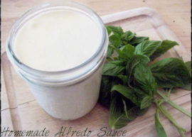 The Best Homemade Alfredo Sauce from The Coconut Mama
