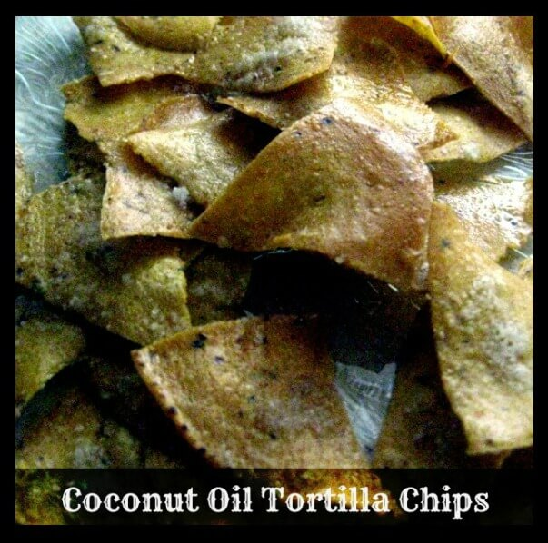 Baked Coconut Oil Corn Tortilla Chips from The Coconut Mama