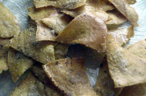 Coconut Oil Tortilla Chips from The Coconut Mama
