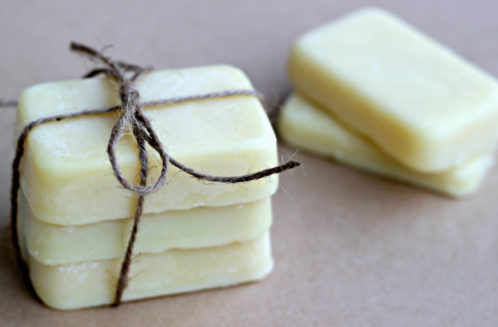 Lotion Bar Recipe with Coconut Oil