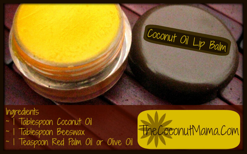 How to Make Coconut Lip Balm