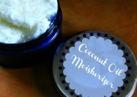 Homemade Coconut Oil Moisturizer from The Coconut Mama
