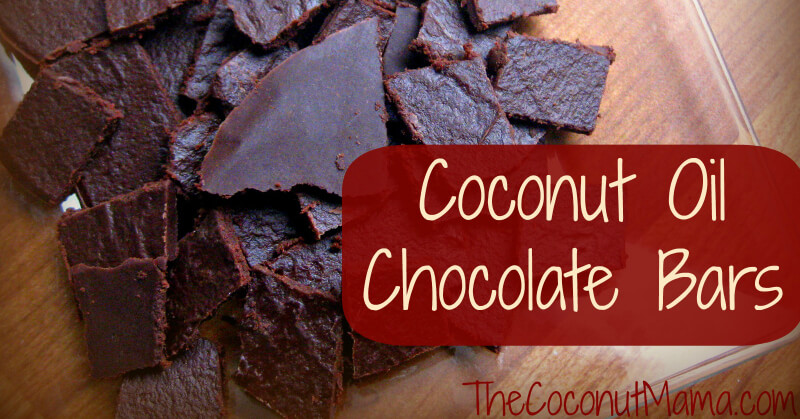 Coconut Oil Chocolate - Dairy Free & Refined Sugar Free!
