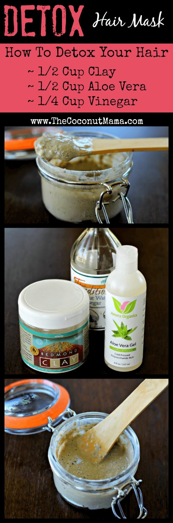 How to Detox Your Hair from The Coconut Mama