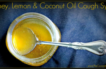 Honey, Lemon & Coconut Oil Cough Syrup from The Coconut Mama