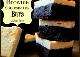 Gluten Free Brownie Cheesecake Bars from The Coconut Mama
