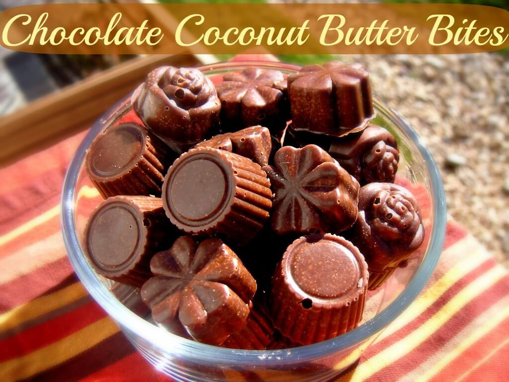 Chocolate Coconut Butter Bites