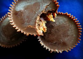 Chocolate Caramel Cups from The Coconut Mama