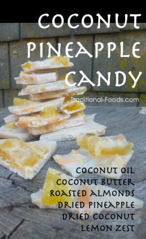 Coconut Pineapple Candy