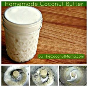 how to make coconut butter in vitamix