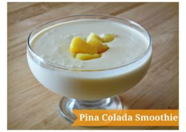 Pina Colada Smoothie from The Coconut Mama