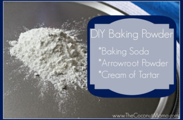 DIY Baking Powder from The Coconut Mama