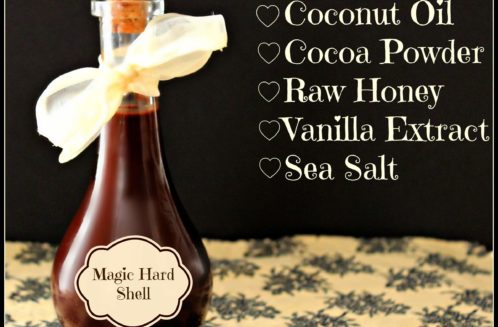 How to Make Magic Hard Shell Topping for Ice Cream from The Coconut Mama
