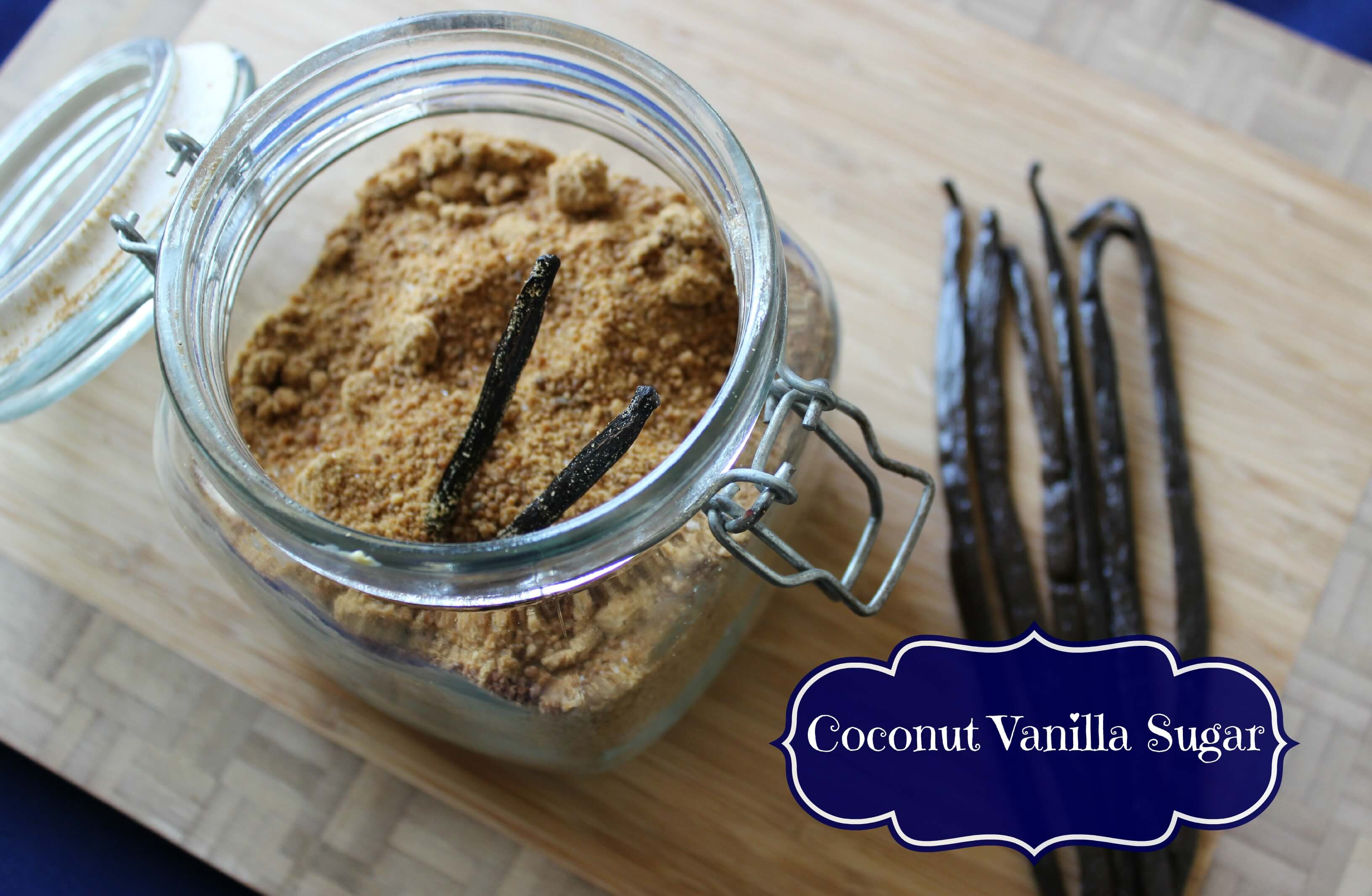 Coconut Vanilla Sugar