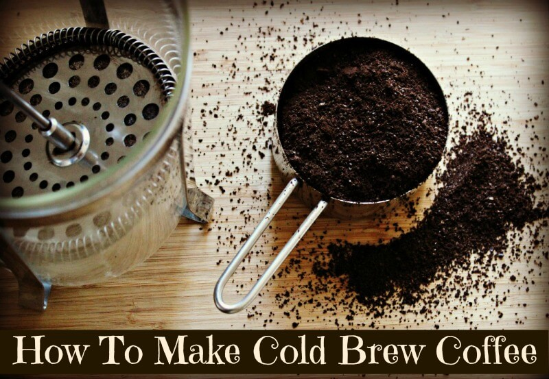 How to Make Cold Brew Coffee – The Coconut Mama
