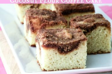 Sunday Special Coffee Cake (Grain Free and Dairy Free) from The Coconut Mama