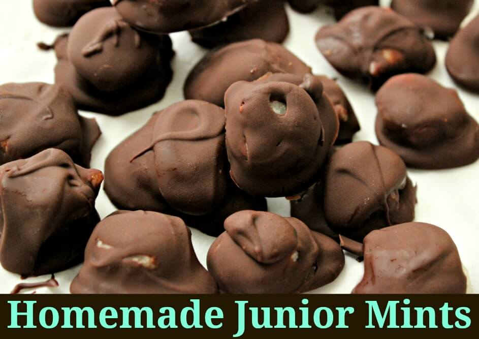 Homemade Junior Mints