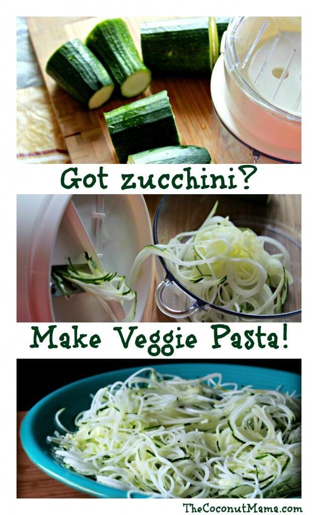 How To Make Zucchini Pasta