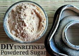 How To Make Unrefined Powdered Sugar from The Coconut Mama