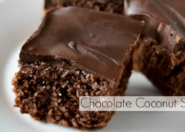 Chocolate Coconut Squares Recipe from The Coconut Mama