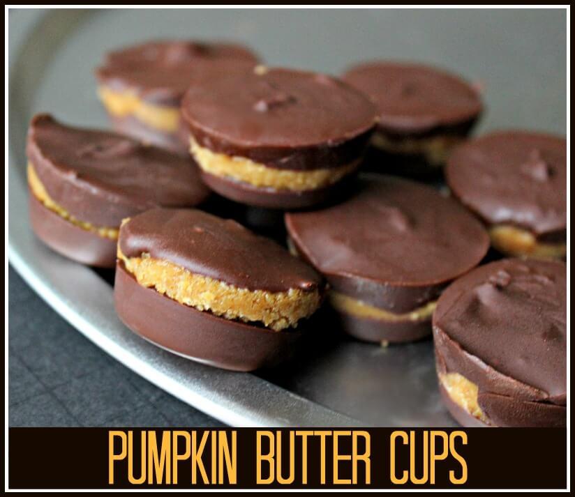 Pumpkin Butter Cups
