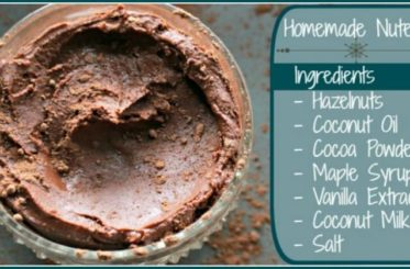 Homemade Nutella from The Coconut Mama