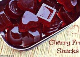 Cherry Fruit Snack from The Coconut Mama
