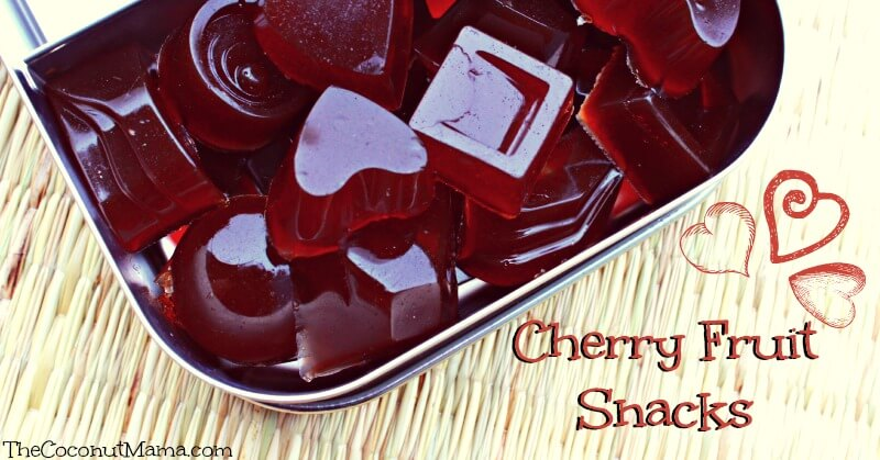 Cherry Fruit Snack Recipe