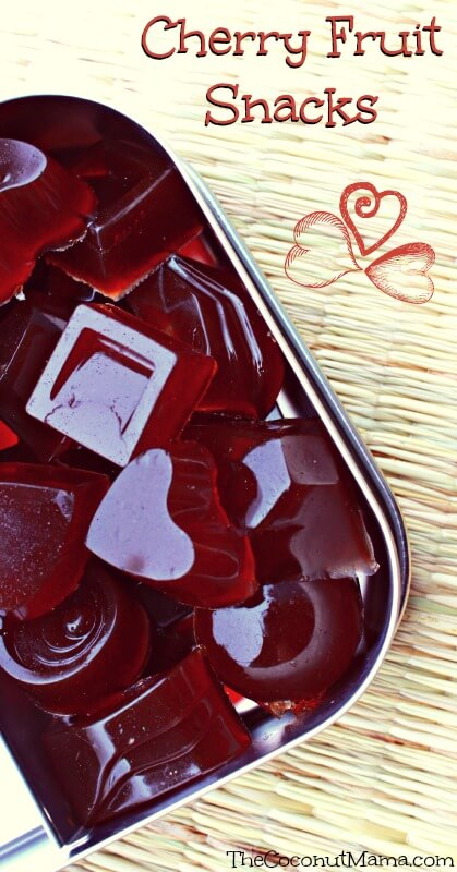 Recipe: Cherry Fruit Snacks