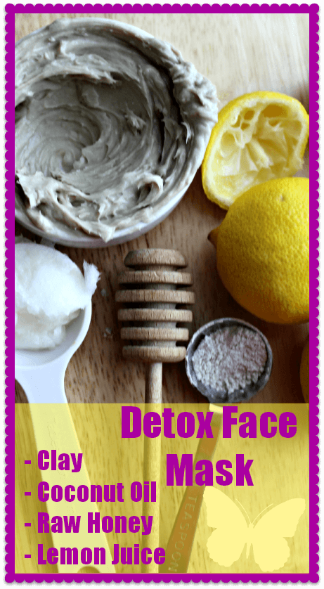 Detox Face Mask from The Coconut Mama