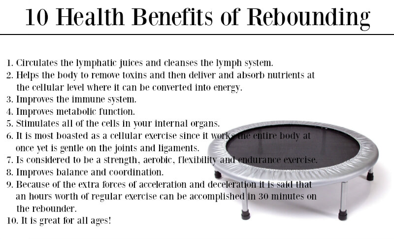 10 Health Benefits Of Rebounding The Coconut Mama