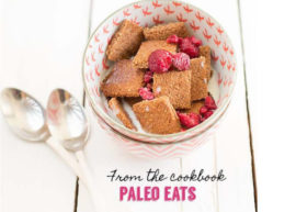 Coconut Cinnamon Cereal from the cookbook Paleo Eats by Kelly Bejelly