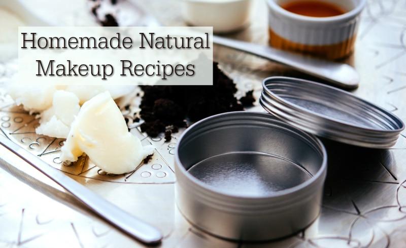Natural Makeup Recipes: 25 Recipes