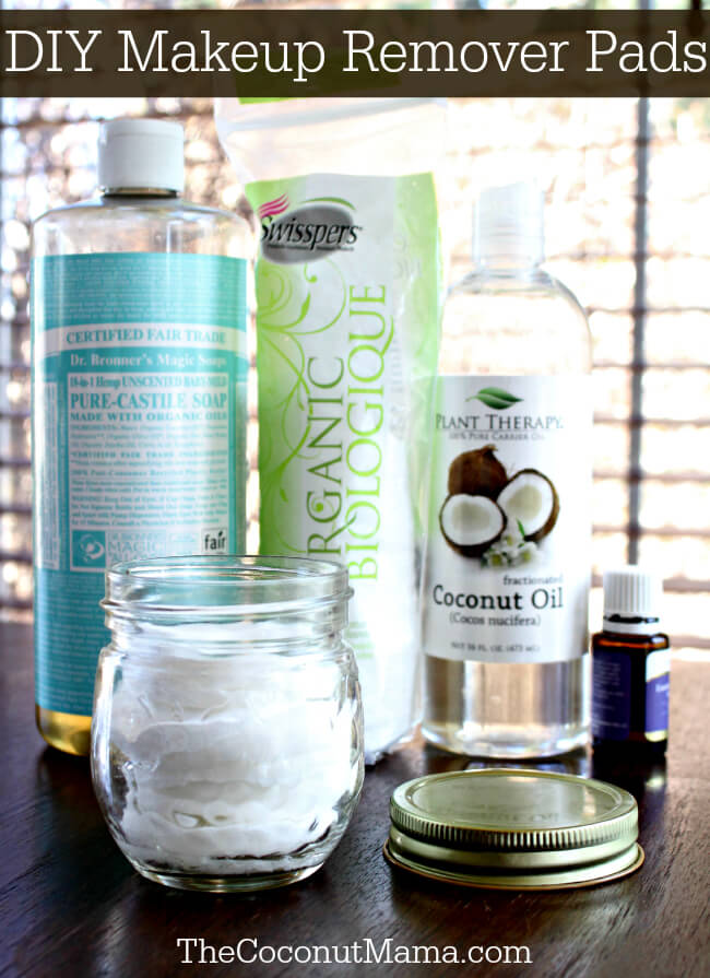 Simple vegan homemade makeup remover wipes you can make in no time. With only natural and organic ingredients (without coconut oil), these homemade aloe vera makeup remover wipes are free of any toxins or harmful ingredients.