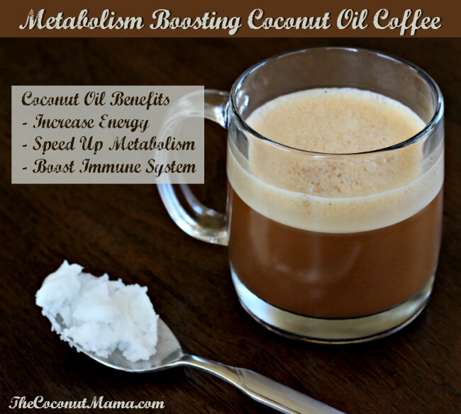 Metabolism Boosting Coconut Oil Coffee