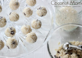 Coconut Cookie Dough Bites