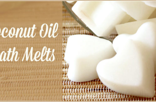 Coconut Oil Bath Melts