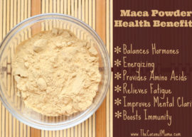 Hormone Balancing Maca Powder Smoothie