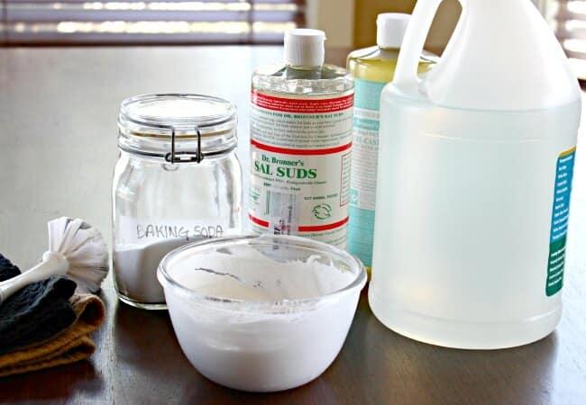Non-Toxic Soft Scrub Recipe