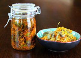 How To Make Calendula Infused Coconut Oil