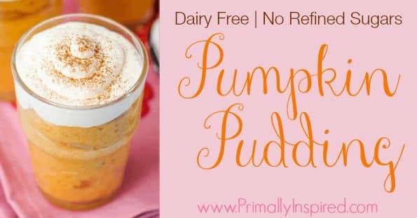 Dairy Free Pumpkin Pudding