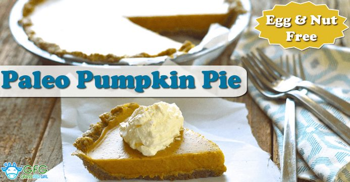 Egg and Nut Free Pumpkin Pie
