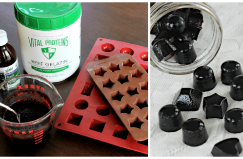 Immune Boosting Elderberry Gummy Snacks