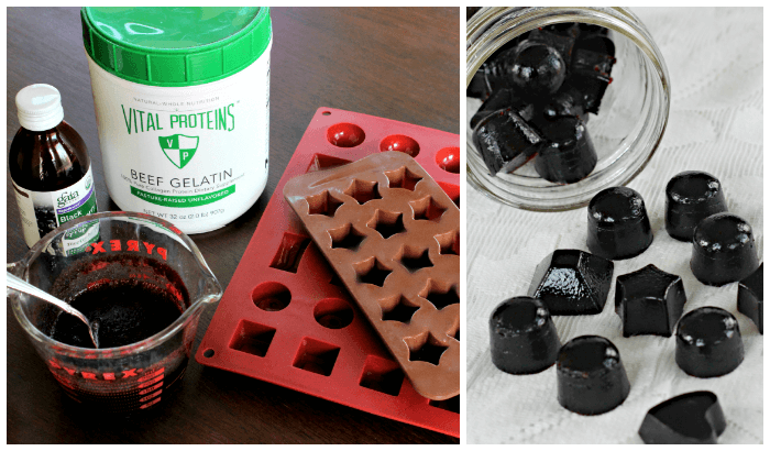 Immune Boosting Elderberry Gummy Snacks